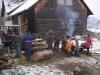 Holzspalten 2005